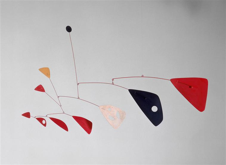 Alexander Calder Mobile 1955 National Museum of Modern Art Georges Pompidou Center Paris