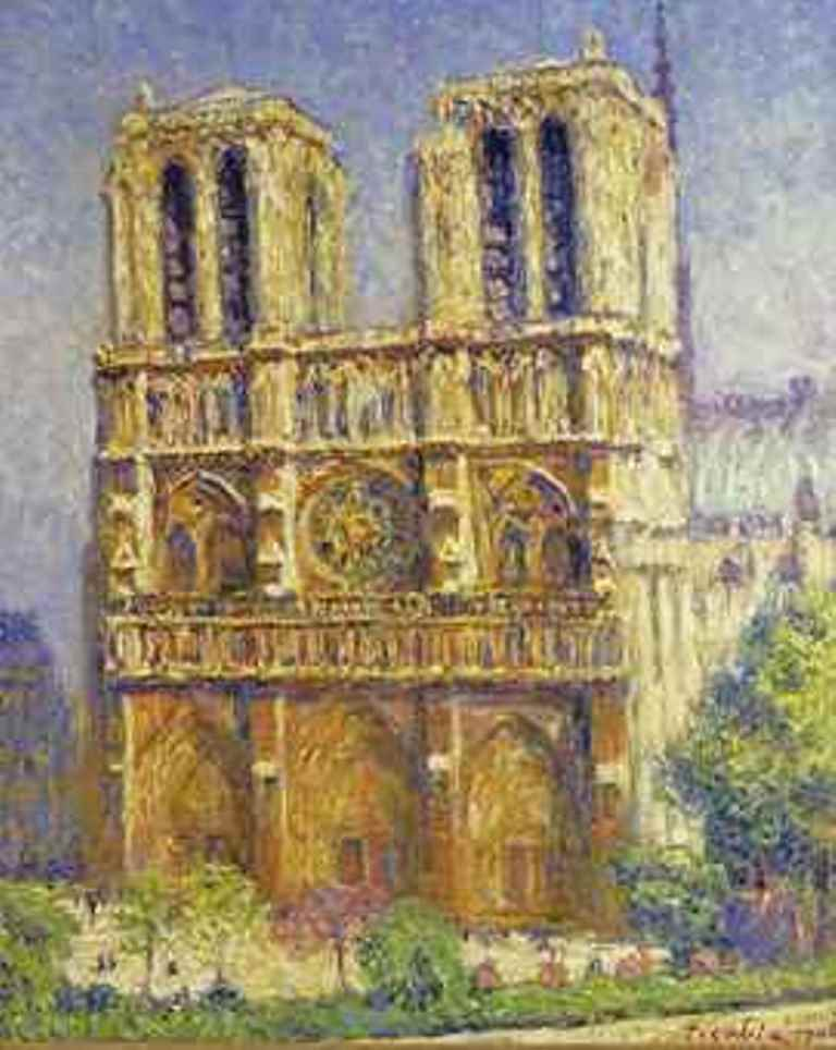 Francis Picabia 1879-1953 Notre Dame le matin