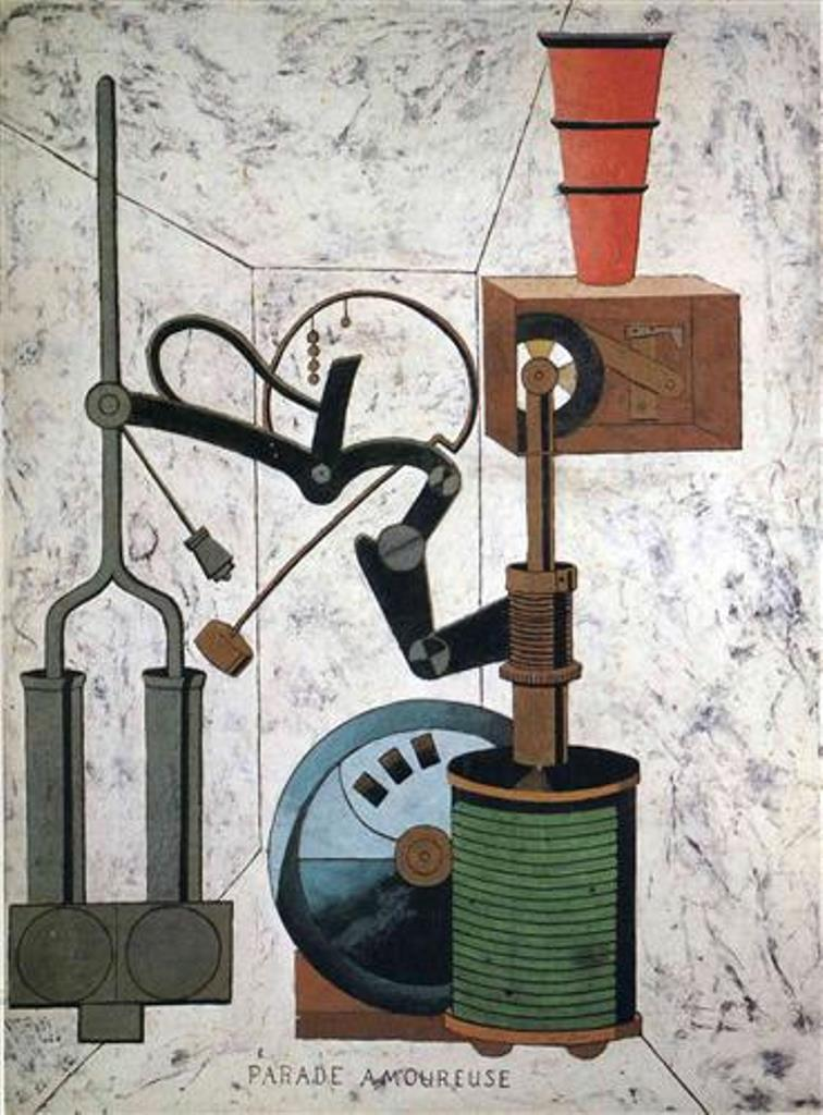 Love Parade Francis Picabia 1917
