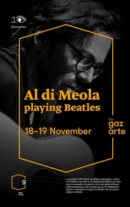 Αφίσα, Al Di Meola playing the Beatles