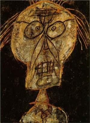 Jean Dubuffet, part of Hautes Pates series, 1947